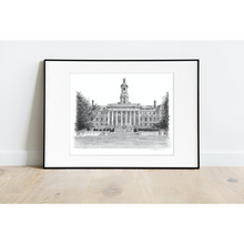 Load image into Gallery viewer, Penn State Old Main Print - Officially Licensed Collegiate Product