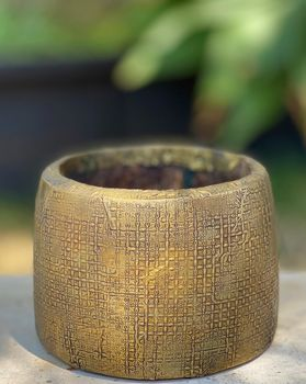 Vintage Indian wooden mana