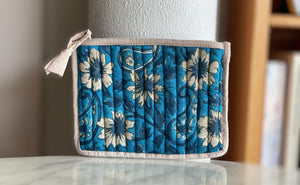 Cotton Zip Purse