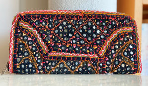 Vintage Rajasthani embroidered wallet