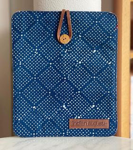 Blockprint iPad Cover