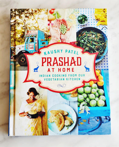 Prashad at home, Indian cooking from our vegetarian kitchen by Kaushy Patel