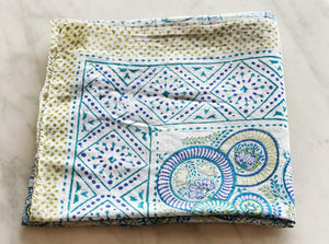 Sarong - Blockprinted cotton