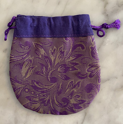 Small Cotton Lined Purse