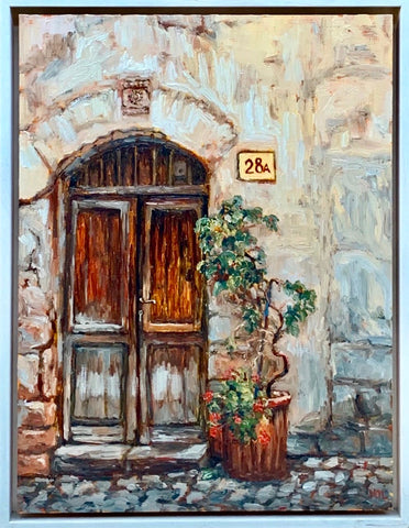 "Oil Painting ""Venice Door"" - Marion Langford"