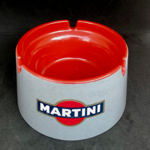 Vintage 70's Martini ashtray