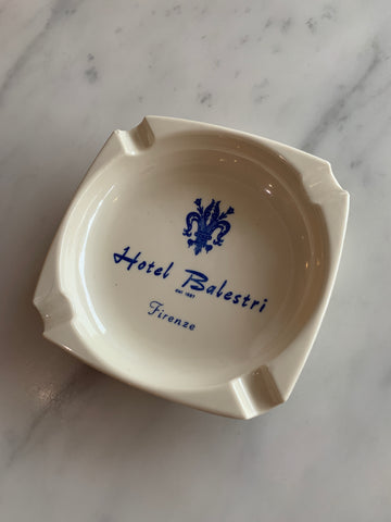 Vintage Hotel Balestri Ashtray
