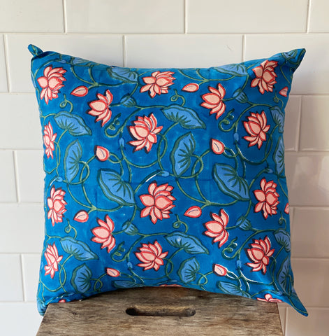 Lotus Flower Cushion