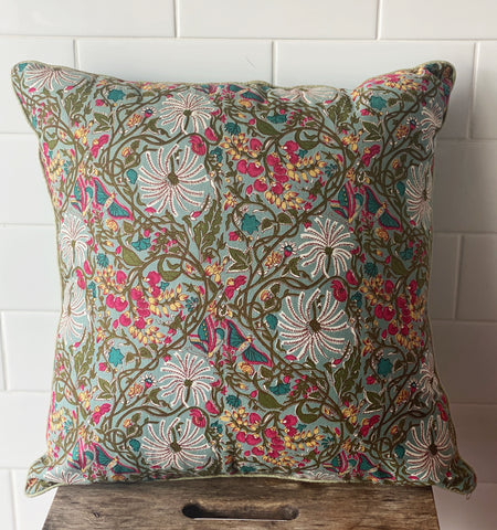 Block Printed Cushion