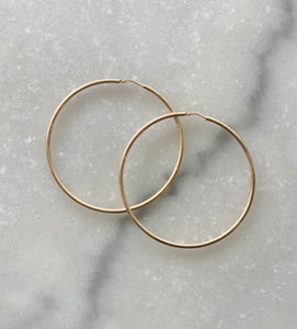 Torini Gold Hoop Earrings