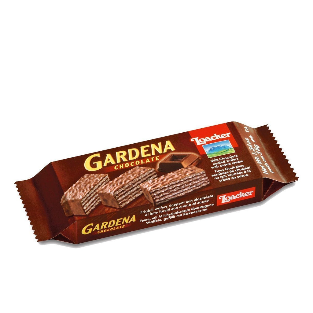 LOACKER GARDENA CHOCOLATE 38G