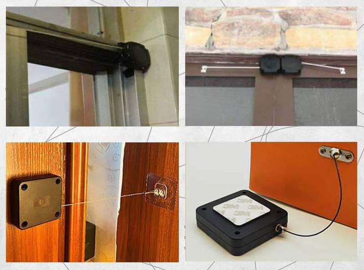 Punch-free Door Closer