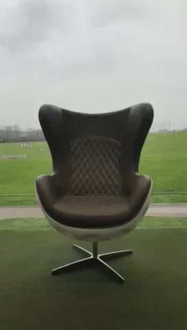 Iconic, futuristic chair design