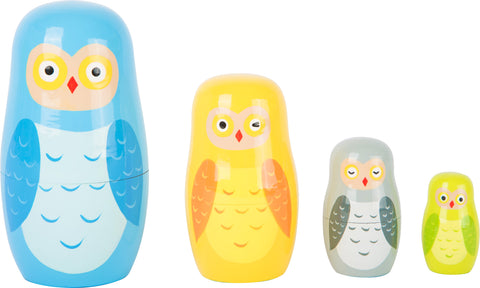 Owl Family Matryoshka