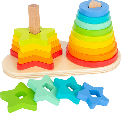Rainbow Shape Fitting Game