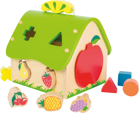 Shape Sorter 'Fruit House'