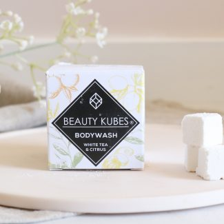 Beauty Kubes Body Wash with White Tea and Citrus