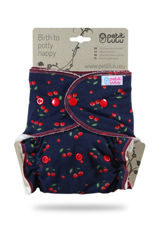 Petit Lulu Maxi Night Nappy - Snaps