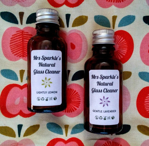 Mrs Sparkle Natural Concentrated Glass Cleaner - 30ml
