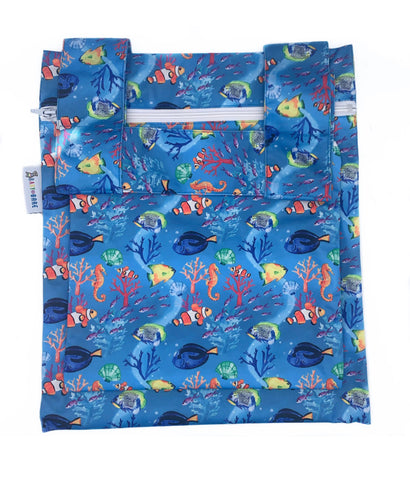 Baby Bare Wet Bags - Double (PUL & Minky) - Discontinued Prints
