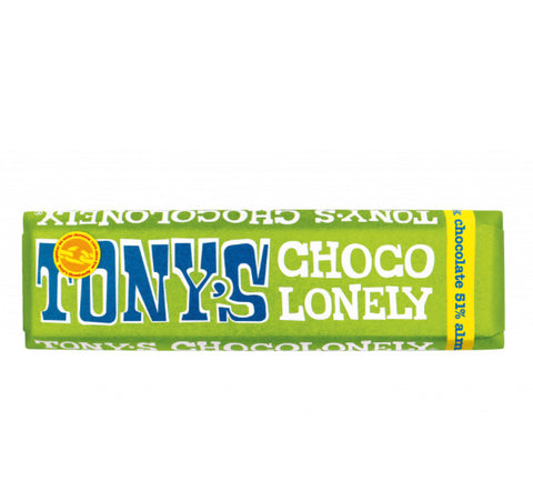 Tony's Chocolonely Dark Almond Sea Salt 47g
