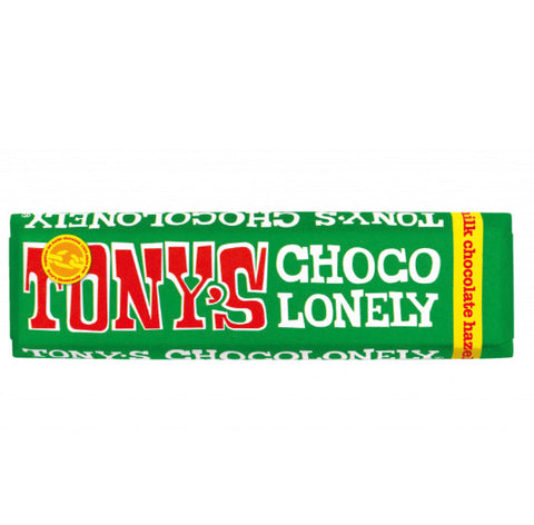 Tony's Chocolonely Milk Chocolate Hazelnut 47g