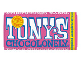 Tony's Chocolonely White Raspberry Popping Candy 180g
