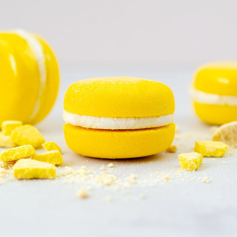 Soul and Soap Lemon Bath Macaron