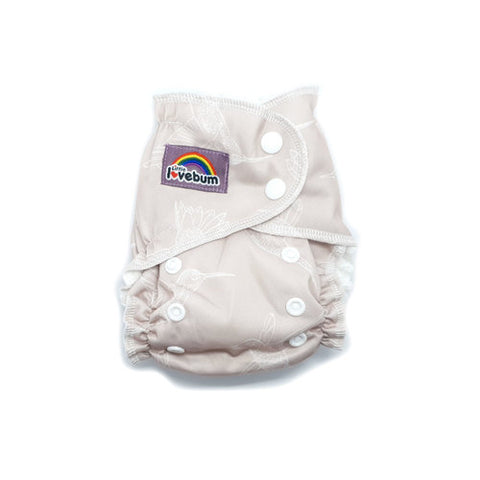 Little Lovebum Newbie (Newborn) AIO (All in One) Nappy