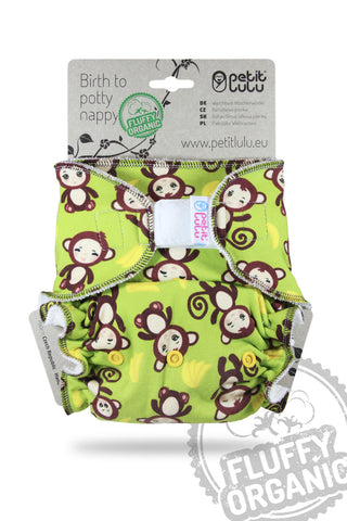Petit Lulu Maxi Night Nappy - Hook & Loop