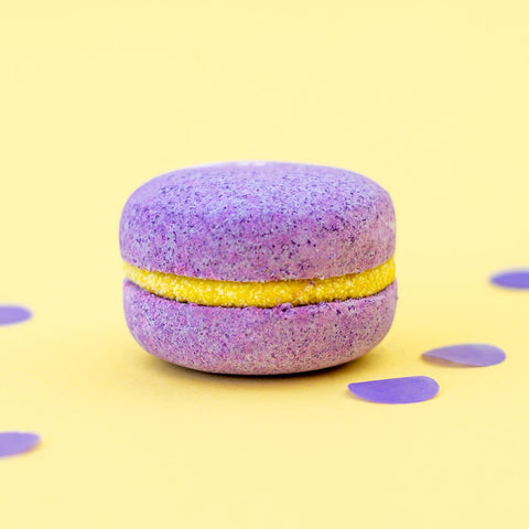 Soul and Soap Passion Fruit Bath Macaron