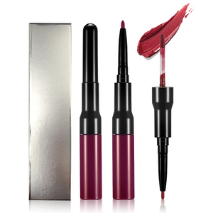15 Colors 2-end Lipstick with Lipliner