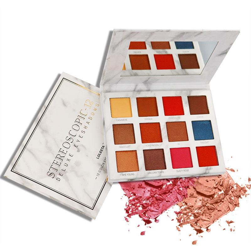 12-color eyeshadow palette