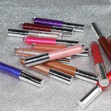 Load image into Gallery viewer, 26 Colors Silver Lid Round Tube Lip Glosses