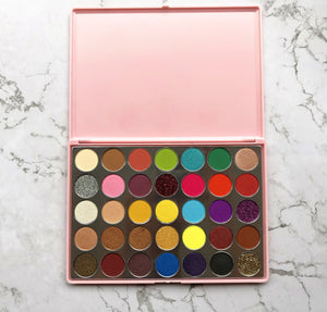 (Limit discounts)35 color eyeshadow palette-eye