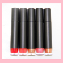Load image into Gallery viewer, 5 Colors Black Tube Lip Glosses