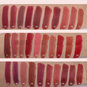 waterproof colorful high pigmented matte lipstick