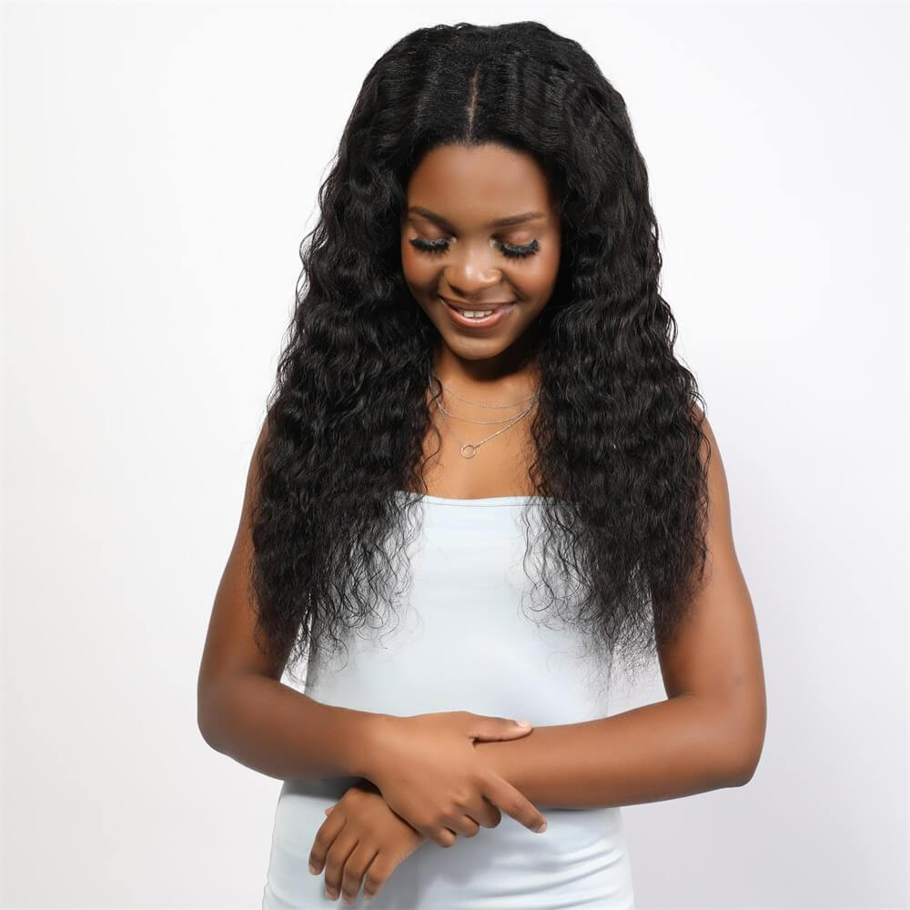 Water Wave U Part Wig - Neobeauty Hair