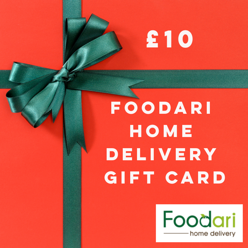 Foodari Home Delivery Gift Card - £10