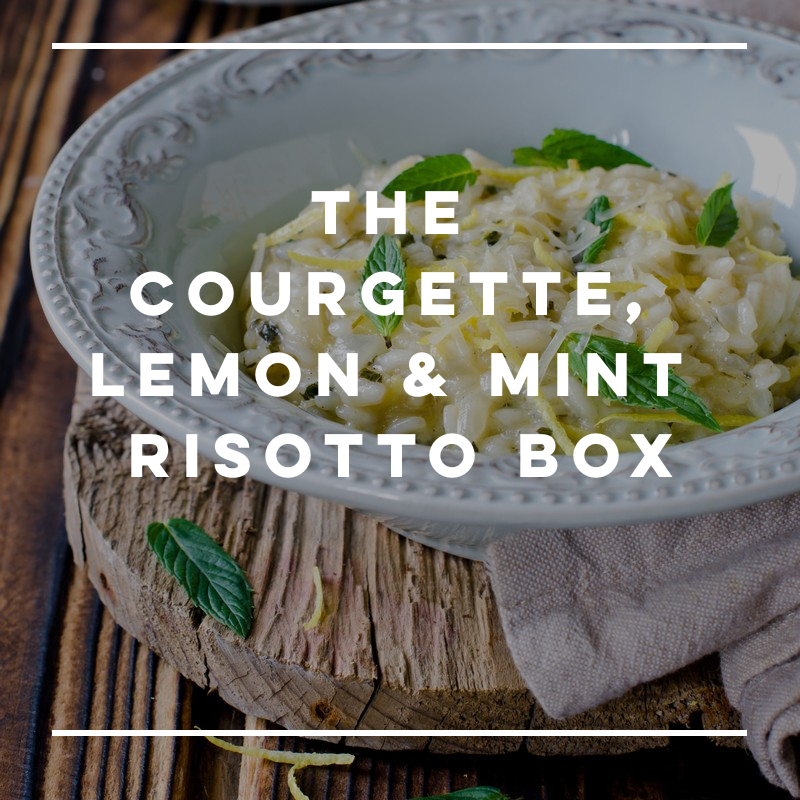 Special Offer! The Courgette, Lemon & Mint Risotto Box