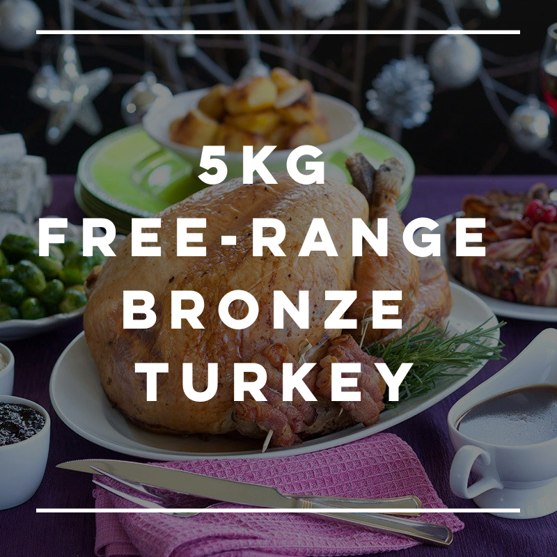 5kg Free-Range Bronze Turkey