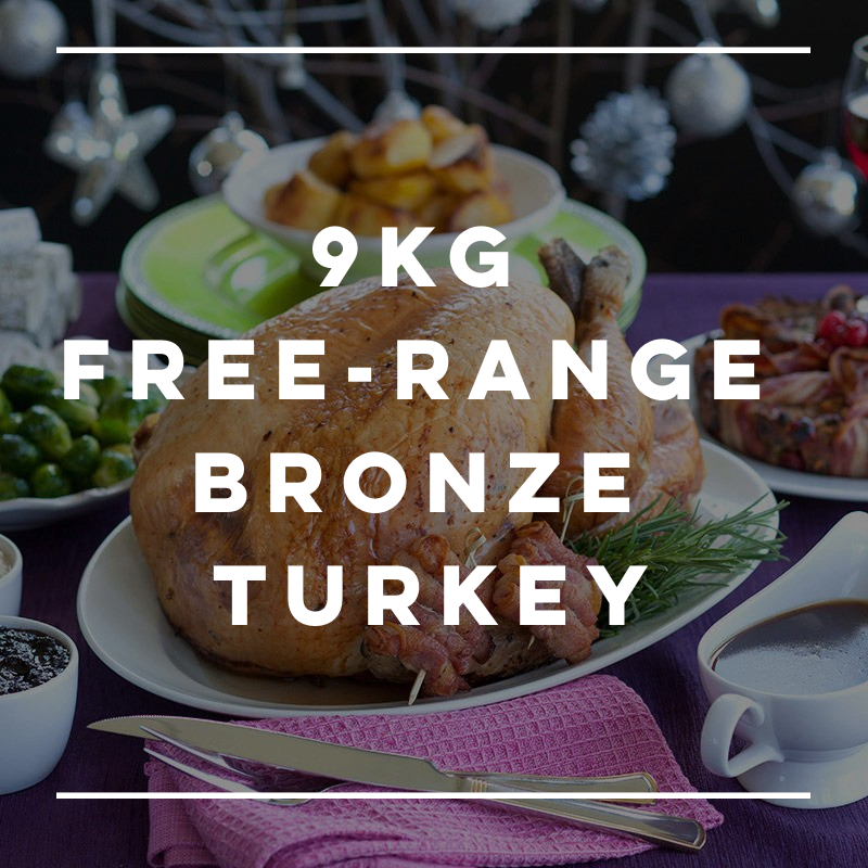 9kg Free-Range Bronze Turkey