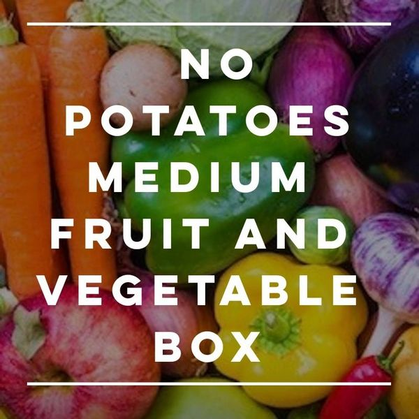 No Potatoes Fruit And Vegetable Box
