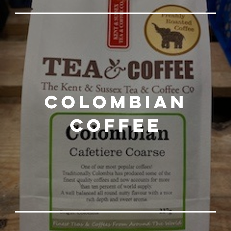 Kent & Sussex Tea & Coffee Co. Colombian Coffee