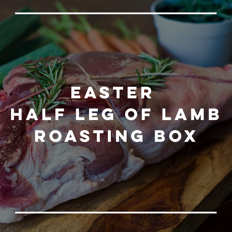 Easter Half Leg Of Lamb Roasting Box
