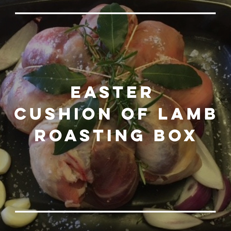 Easter Cushion Of Lamb Roasting Box
