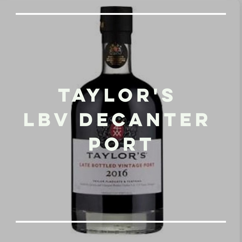 Taylor's LBV Decanter Port