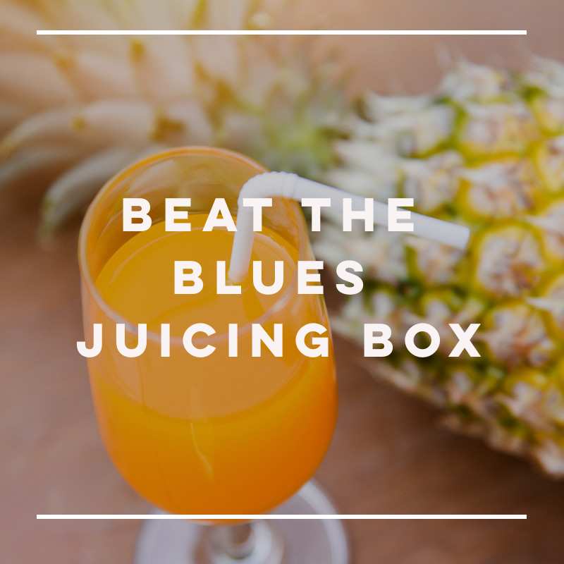 Beat the Blues Juicing Box