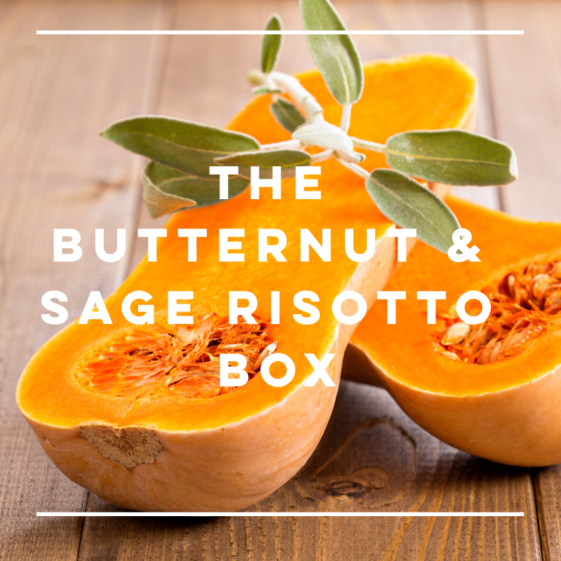 The Butternut & Sage Risotto Box