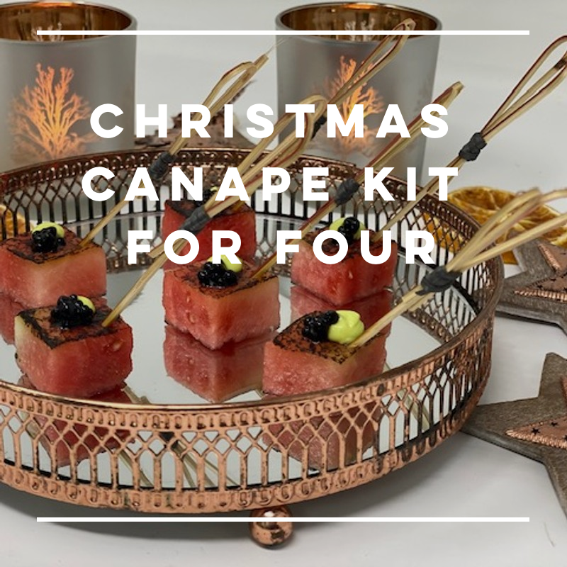 Christmas Canapes Kit - for four